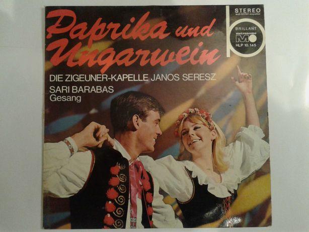 Płyty winylowe, muzyka węgierska / cygańska (zestaw 3)