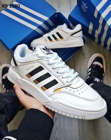 Adidas Drop Step (бело/золотые)