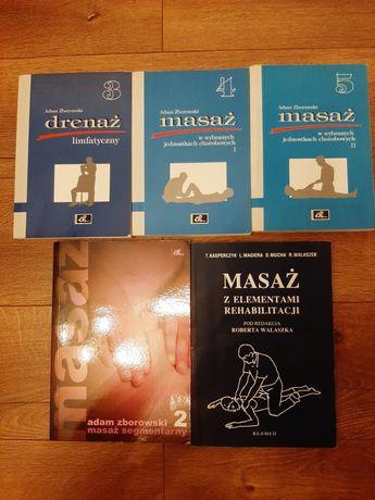 Książki do masażu Zborowski, Kasperczyk, Magiera, Mucha, Walaszek