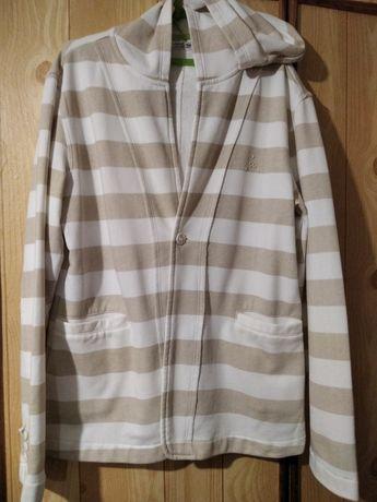 Трикотажный пиджак с капюшоном подростковый 12 13 лет Street gang