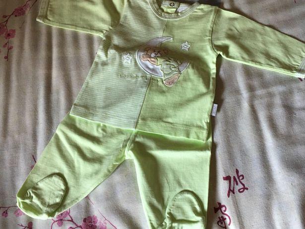 Conjunto algodão bebé
