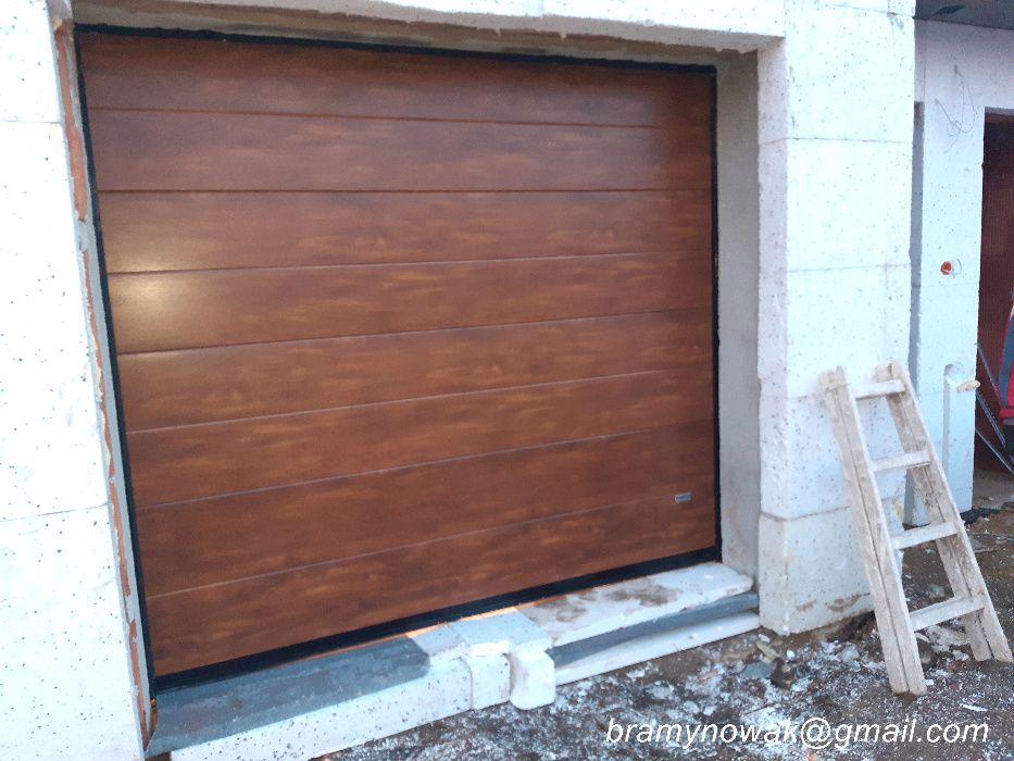 Brama garażowa 3000x2000 kolor złoty dąb Sosnowiec - image 1