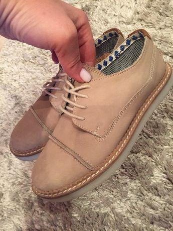 Кожанные туфли на мальчика ZARA