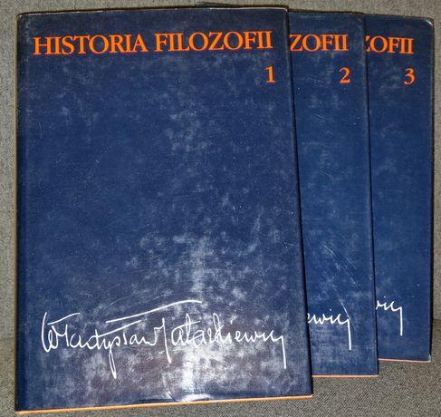 Władysław Tatarkiewicz, Historia filozofii, tom 1-3