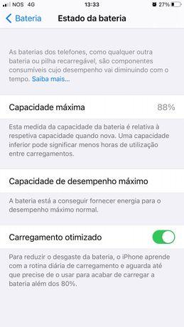 iPhone 7 Plus como novo 128gb