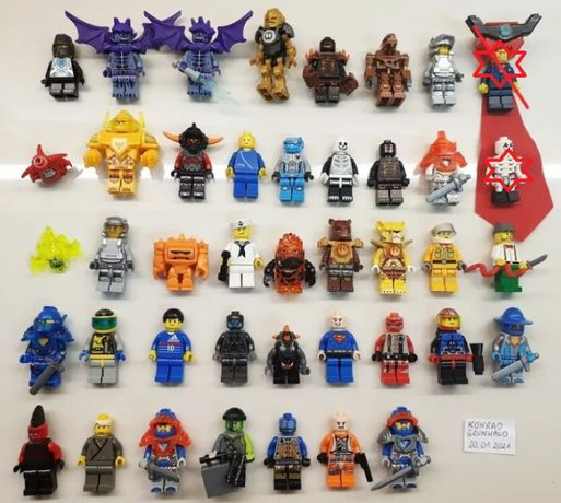 LEGO Figurki Kolekcja 39 sztuk Okazja różne serie