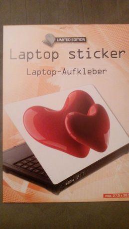 sticker naklejka skórka skin na laptop serca walentynki