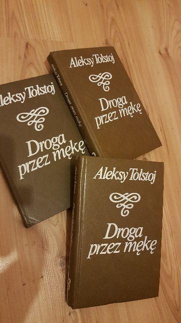 Droga przez mękę Aleksy Tołstoj - 3 tomy - książki w twardej oprawie