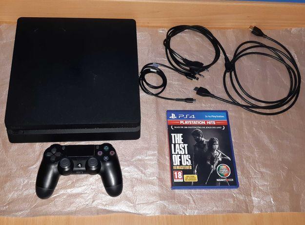 Playstation 4/Ps4 Slim de 1 TB + Comando Original + The last Of Us