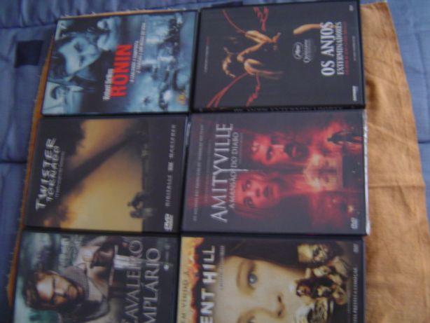 6 filmes de ação em DVD