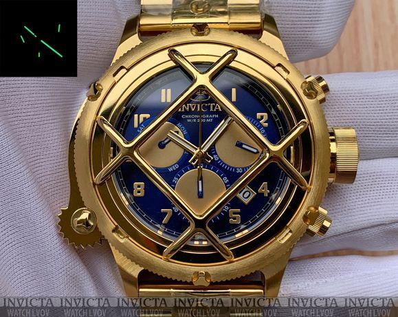 Мужские часы Invicta 26464 Russian Diver NAUTILUS Chronograph Swiss