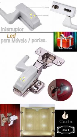 Interruptor led p/ moveis