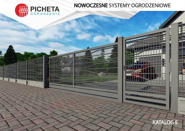 Panele ogrodzeniowe 2D Ogrodzenia panelowe ozdobne