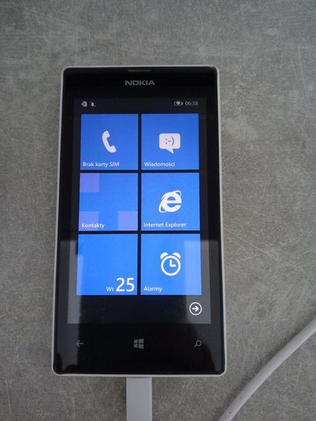 Nokia Lumia 520 biało czarna