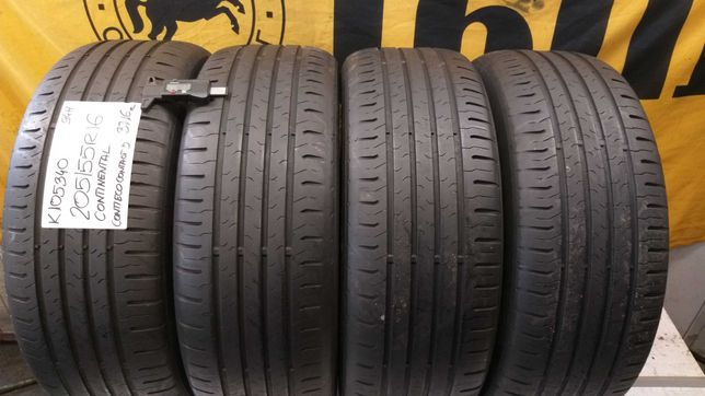K105340 komplet 205/55R16 94H Continental ContiEcoContact 5 dot.3716r.