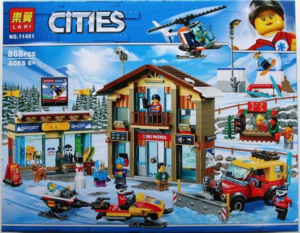 Zestaw klocków jakości lego cities