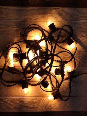 Ретро гирлянда Белт лайт - лампы в комплекте , докупать не надо!