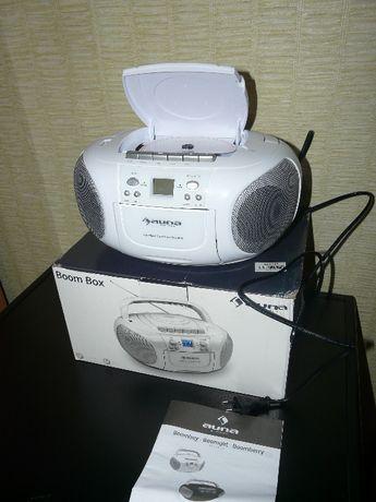 Бумбокс c Германии CD MP3 USB FM-радио ЖК-дисплей Компактный Касеты
