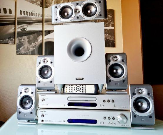 Zestaw Audio Onkyo TX-L55 Kolumny JBL 5.1, DVD Onkyo, SUB Tannoy EFX