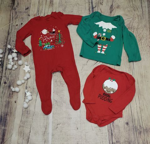 Яркий комплект брендовых вещей на новый год, рождество, зиму