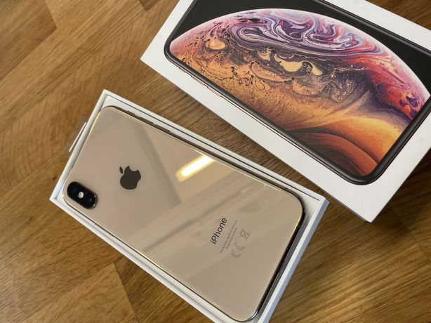 Iphone XS 256gb Gold idealny