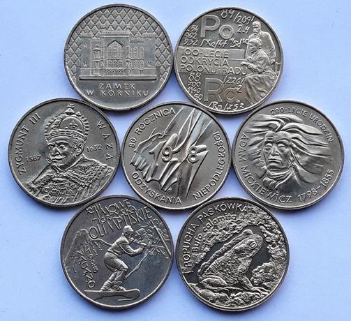 2zł GN 1998 komplet - 7sztuk monety okolicznościowe
