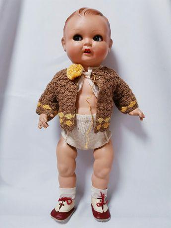 Кукла пупс гдр с зубками 38 см. Производитель Карл Мориц клеймо CMB