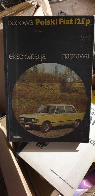 Książka Polski Fiat 125 p