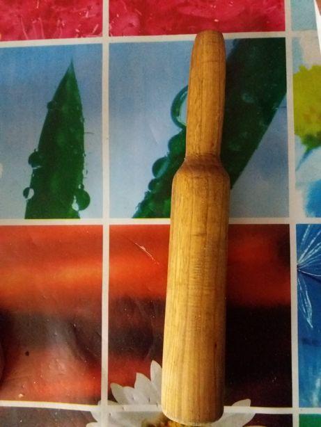 Толкушка деревянная