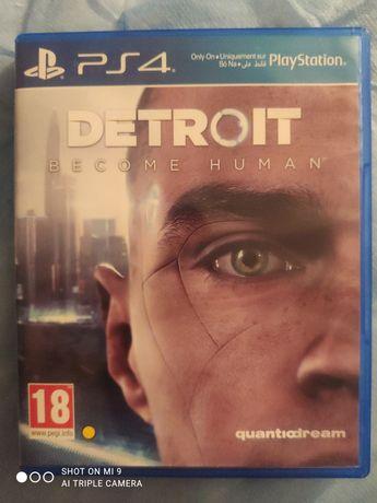 Gra Detroit Become Human na PS4. Stan bardzo dobry.