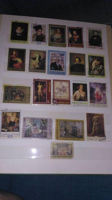Почтовые марки альбом
