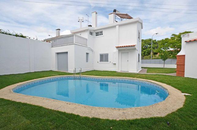Moradia com piscina em Oeiras (praia de Santo Amaro)