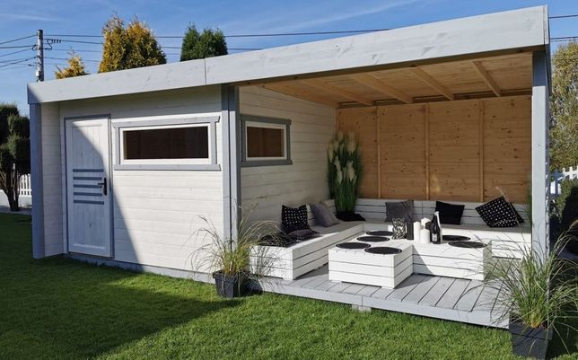 DOMEK ogrodowy 3x3 domek 3x3m domek narzędziowy 3x3 drewutnia MDN10