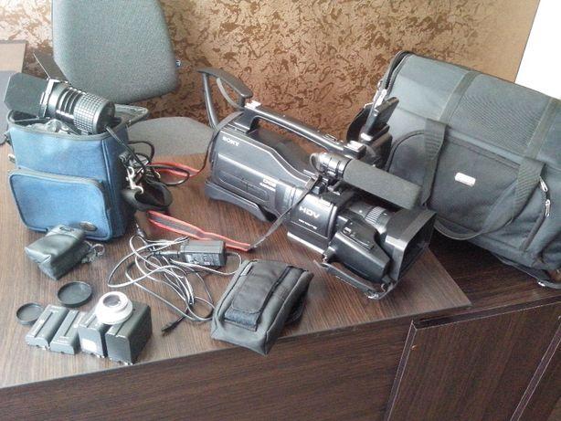Профи камера сони HVR-HD1000E в хорошем состоянии.