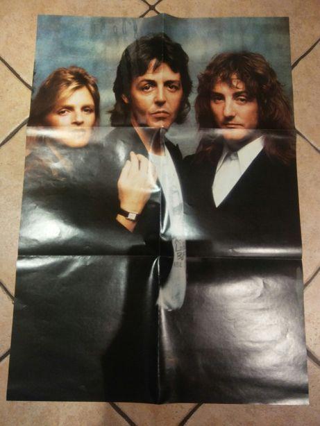 Unikatowy plakat Paul McCartney.