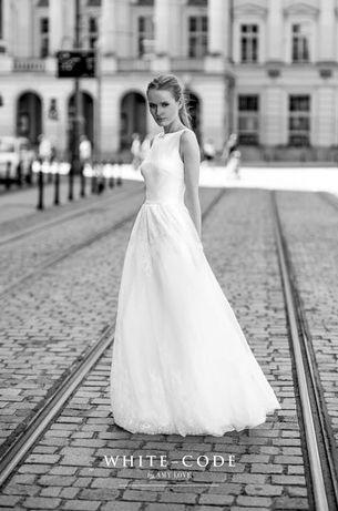 Suknia Ślubna Amy Love Chita White Code z dodatkami