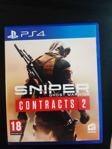 gra sniper contracts 2 ps4  pL nowosc