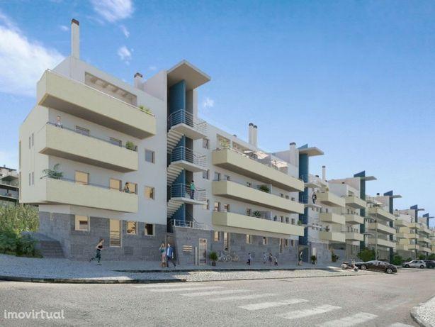 Apartamento T2 Novo com Piscina Panorâmica na Cobertura -...