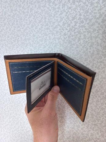 Кошелек мужской, портмоне, бумажник