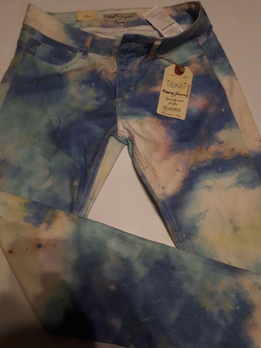 CARS JEANS spodnie jeansy rurki kosmos cosmos galaxy 28/33 M L 36 38 Lublin - image 1