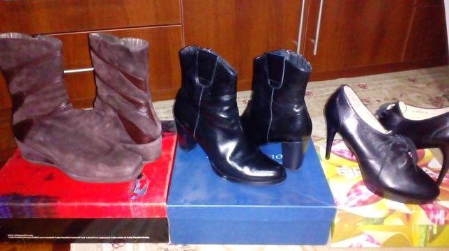 Ботинки Pazolini в отл.состоянии НАТУР кожа р. 40-41