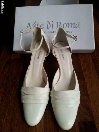Buty ślubne Arte di Roma 40 skóra ecru