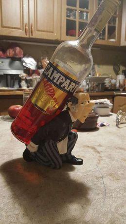 Винтажная Подставка статуэтка под бутылку