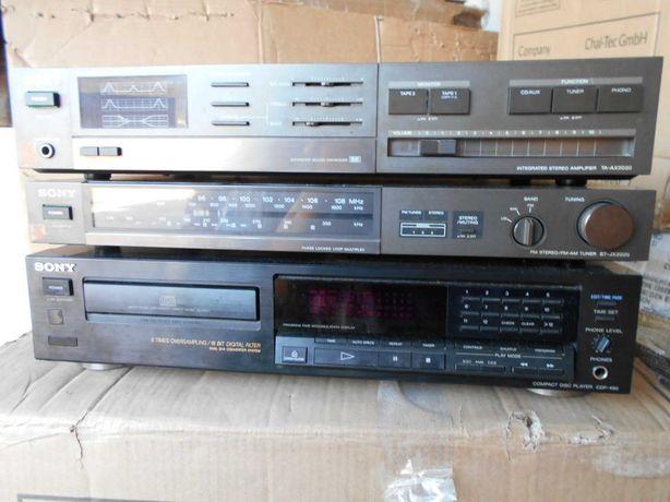 Wieża Wzmacniacz Sony TA-AX2020 tuner ST-JX2020 CD SONY CDP-490