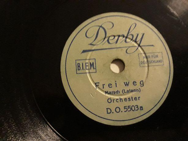 Płyty winylowe: Derby Der fidele Bauer Potpourri 1 i 2, Frei weg, ..