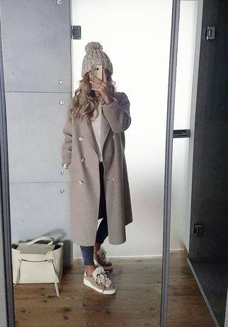 Płaszcz Zara handmade wełna xs nowy