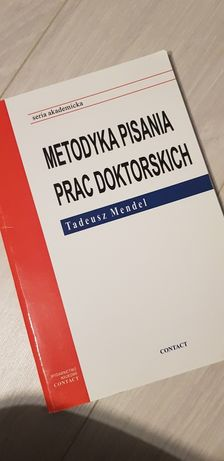 Metodyka pisania prac doktorskich