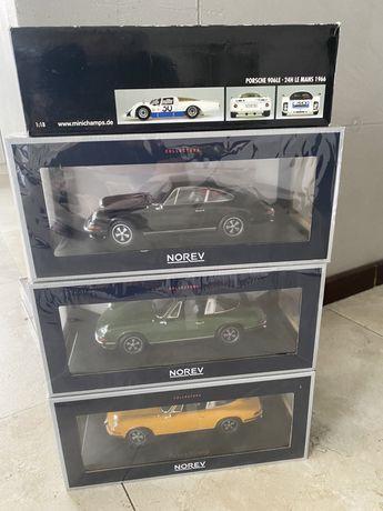 Norev 1973 Porsche 911 S Black