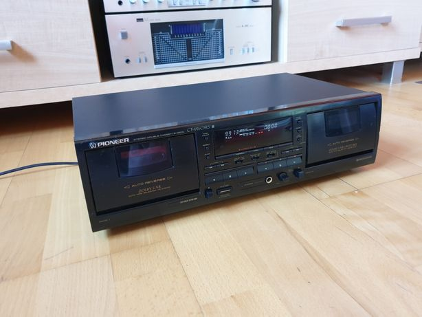 Deck Magnetofon Pioneer CT-W603RS -wysoki model,super stan,po serwisie