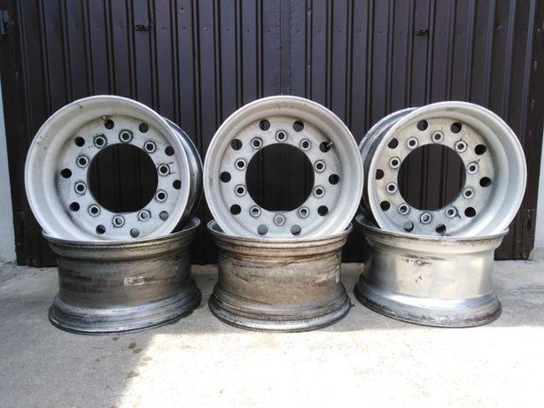 Felgi aluminiowe do naczepy 11,75x22,5 et0